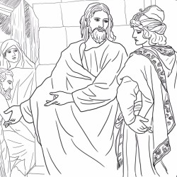 jesus-and-the-rich-young-man-by-heinrich-hofmann-coloring-page