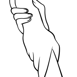 helping-hands-coloring-page